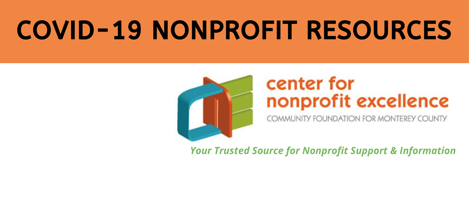 COVID-19 Resources for Nonprofits